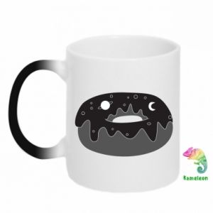 Chameleon mugs Space donut