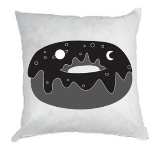 Pillow Space donut - PrintSalon