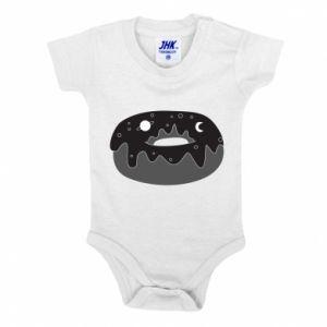 Baby bodysuit Space donut - PrintSalon