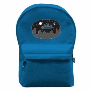 Backpack with front pocket Space donut - PrintSalon