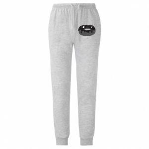 Męskie spodnie lekkie Space donut - PrintSalon