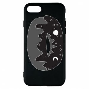 Phone case for iPhone 7 Space donut - PrintSalon