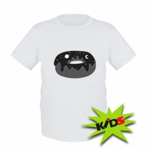 Kids T-shirt Space donut