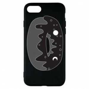 Phone case for iPhone 8 Space donut - PrintSalon