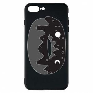 Phone case for iPhone 8 Plus Space donut - PrintSalon