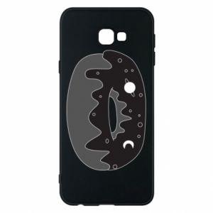 Phone case for Samsung J4 Plus 2018 Space donut - PrintSalon