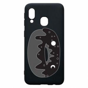 Phone case for Samsung A40 Space donut - PrintSalon