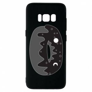 Phone case for Samsung S8 Space donut - PrintSalon