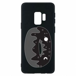 Phone case for Samsung S9 Space donut - PrintSalon