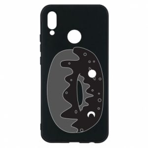 Phone case for Huawei P20 Lite Space donut - PrintSalon