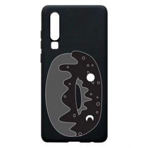 Phone case for Huawei P30 Space donut - PrintSalon