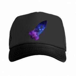Trucker hat Space rocket - PrintSalon