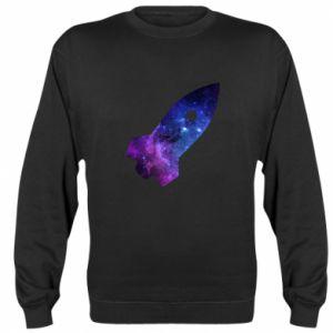 Sweatshirt Space rocket - PrintSalon