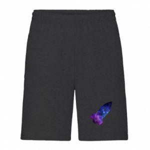 Men's shorts Space rocket - PrintSalon