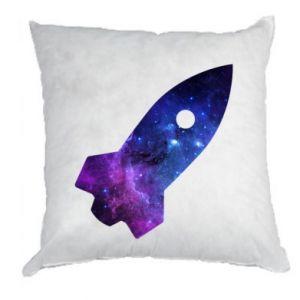 Pillow Space rocket - PrintSalon