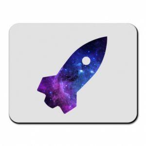 Mouse pad Space rocket - PrintSalon