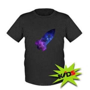 Kids T-shirt Space rocket - PrintSalon