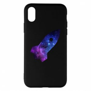 Phone case for iPhone X/Xs Space rocket