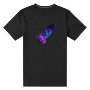 Men's premium t-shirt Space rocket - PrintSalon