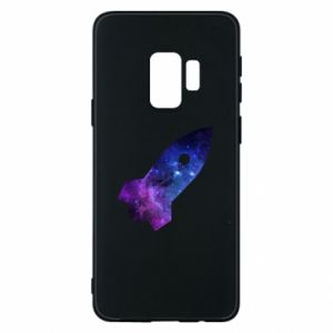 Phone case for Samsung S9 Space rocket