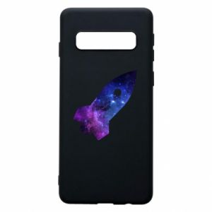 Phone case for Samsung S10 Space rocket