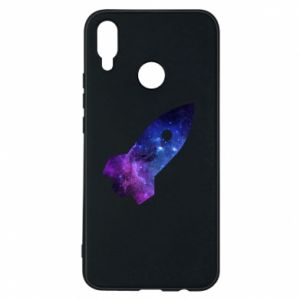 Phone case for Huawei P Smart Plus Space rocket