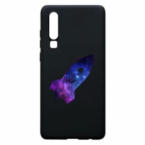 Phone case for Huawei P30 Space rocket