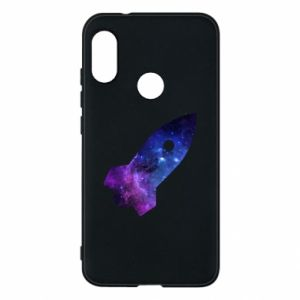 Phone case for Mi A2 Lite Space rocket