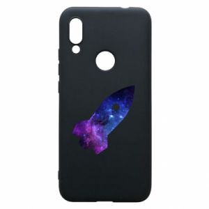 Phone case for Xiaomi Redmi 7 Space rocket