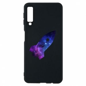 Phone case for Samsung A7 2018 Space rocket