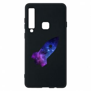 Phone case for Samsung A9 2018 Space rocket