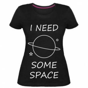 Damska premium koszulka Space