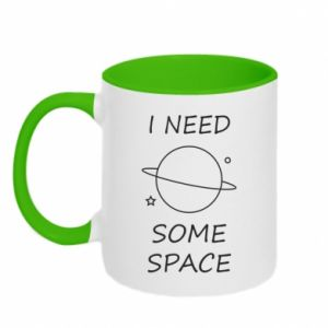 Kubek dwukolorowy Space