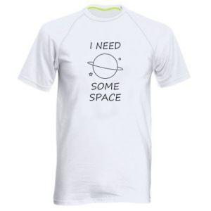 Męska koszulka sportowa Space