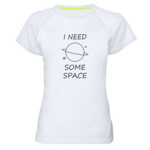 Women's sports t-shirt Space
