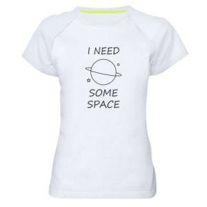 Damska koszulka sportowa Space