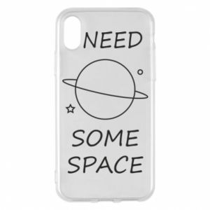 Phone case for iPhone X/Xs Space