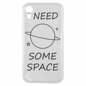 Phone case for iPhone XR Space