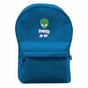 Plecak z przednią kieszenią Spaced out