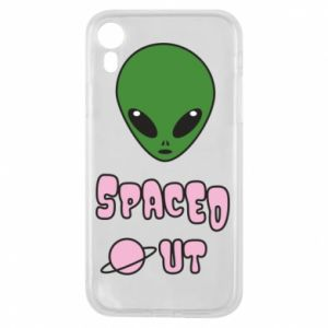 Etui na iPhone XR Spaced out