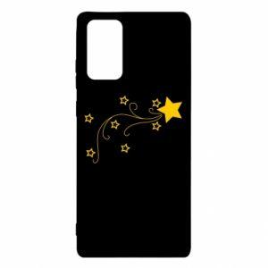 Etui na Samsung Note 20 Spadająca gwiazda na Boże Narodzenie
