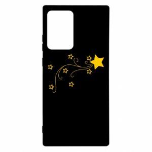 Etui na Samsung Note 20 Ultra Spadająca gwiazda na Boże Narodzenie