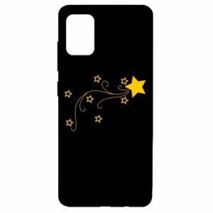 Etui na Samsung A51 Spadająca gwiazda na Boże Narodzenie