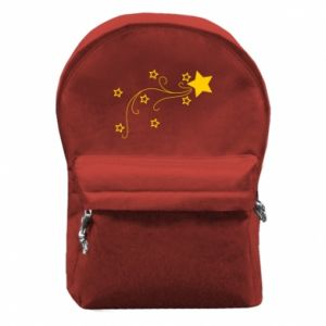 Backpack with front pocket Shooting star for Christmas