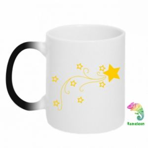 Kubek-magiczny Spadająca gwiazda na Boże Narodzenie