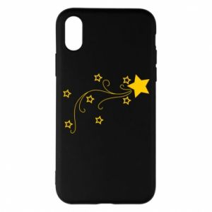 iPhone X/Xs Case Shooting star for Christmas