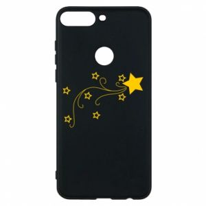 Huawei Y7 Prime 2018 Case Shooting star for Christmas