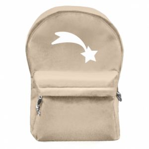 Backpack with front pocket Shooting star