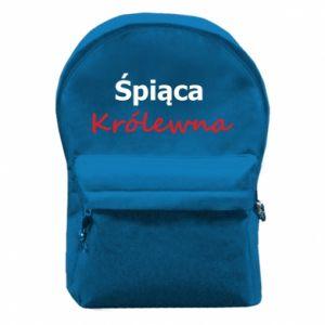 Plecak z przednią kieszenią Śpiąca Królewna