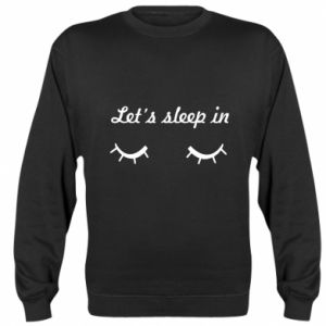 Bluza (raglan) Let's sleep in